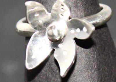 Blossom silver ring ú38