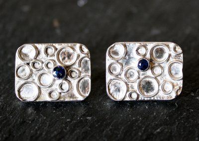 Circles and a Sapphire cufflink ú64