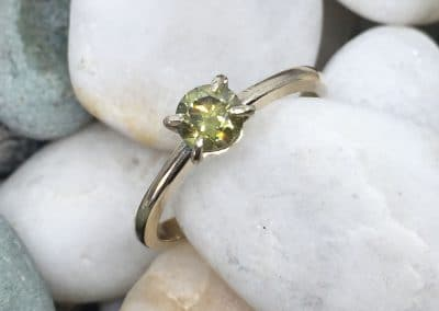 Hand Made Jewellery - Yellow Diamond